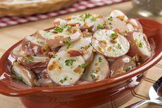Sliced Red Potato Salad | MrFood.com