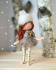 Its a brooch pendant or simply a doll 8 cm. Its a brooch pendant or simply a doll 8 cm. The post Petruška: wool. Its a brooch pendant or simply a doll 8 cm. 2019 appeared first on Wool Diy. Needle Felted Animals, Felt Animals, Needle Felting, Wool Dolls, Felt Dolls, Felted Wool Crafts, Felt Fairy, Felt Christmas Ornaments, Felt Brooch