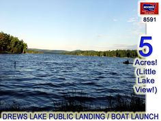 Drews Lake Land For Sale! info@mooersrealty.com 207.532.6573