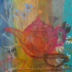 Teapot by Robin Maria Pedrero, via Flickr  http://www.scottishabstract.com/gallery.php