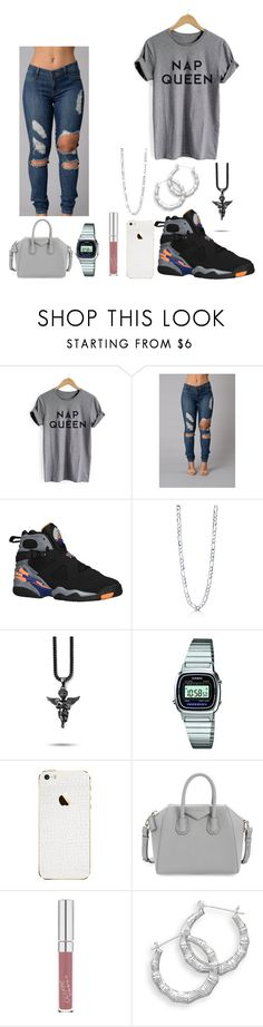 """""""Nap queen"""" by imanifashions on Polyvore featuring Retrò, BERRICLE, Casio, Givenchy and BillyTheTree"""