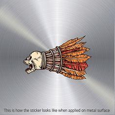 Stickers Decal Skull Badminton Goose Feather Birdies waterproof Games Speci (9 X 5.79 In)