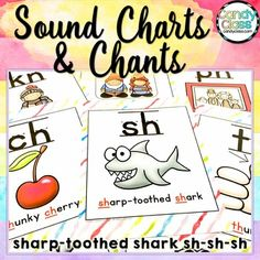 Phonics Posters with Chants for Phonemic Awareness & Phoni