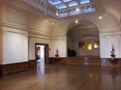 The beautiful and spacious Ballroom (on the third floor) at the American Swedish Institute
