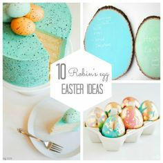 10 Robin's Egg Easter Ideas