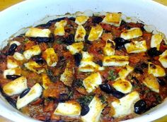 Aegean cuisine at its best uses fresh delicious ingredients and simple preparation. Nota's recipe for aubergines baked with halloumi is a perfect example. @petersommer