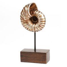 Bronze Conch Shell Statue | Kirklands
