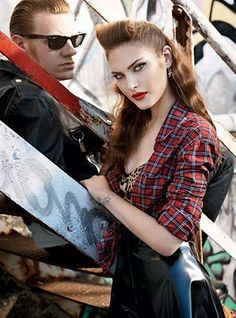 1950s girl greaser fashion - Google Search