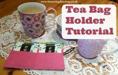 Tea bag holder sewing project