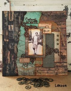 """Berry71bleu : April moodboard Challenge: """"Everything old is new again."""" By DT Laneen"""