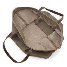 The Kinsale Leather Co. Alabama Worley Runaway Bag Taupe