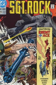 sargent rock comic books | Sgt. Rock Special (1988) comic books