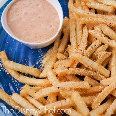 Disneyland cafe orleans style Pommes Frites with Cajun Remoulade