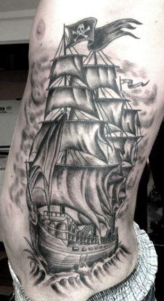 ship tattoo | Tumblr
