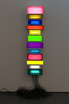 "David Batchelor, ""Electric Wallflower"", 2005."