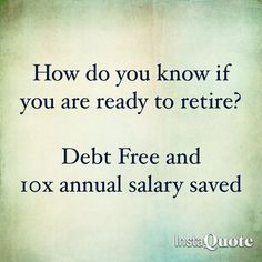 Are you on track? #retirement #savings #money