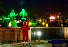 Finally a night off said #Santa #xfinitylive @rocketsband go #rudolph  #merrychristmastoall #goeagles #eaglesnation #funwithfriends #mondaynightfootball santa #bleedgreen  #eaglesfan #christmastime #itsthemostwonderfultimeoftheyear #bettertogether #santarocks #iknowhim #icecold #freezingmybuttoff #freezing #mondaynightparty #livemusic #rocketsband #philadelphiaeagles #phillylife