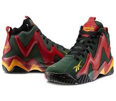 e5d0f163452 Reebok Kamikaze II – Sonics  95 Classic Sneakers