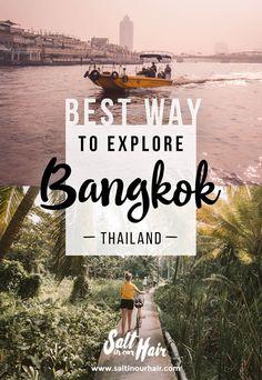 Ultimate Way to Explore Bangkok -  Boat and Bike, Bangkok Tour  #bangkok #thingsdoto #todo #bike #boat #tour #thailand #farm