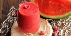 "Raspberry Watermelon Smoothie ""the tart"" | Emilie and Lea's Secrets"