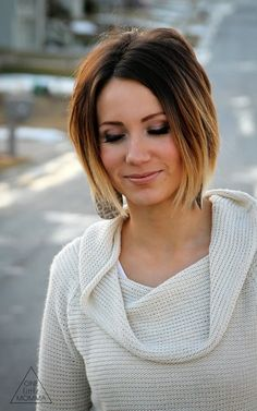 very short ombre