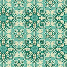 Joel Dewberry - Notting Hill - Historic Tile in Teal
