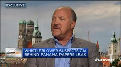 Bradley Birkenfeld, a former UBS banker who blew the whistle on tax dodges, told CNBC he believes the CIA may be behind the Panama Papers leak. Panama, Swiss Bank, Banksy, Felder, Interview, Ubs, Behind, Finance, Paper