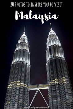 Malaysia is full of culture and exciting adventures! Here are 20 photos to inspire you to visit on your next trip!
