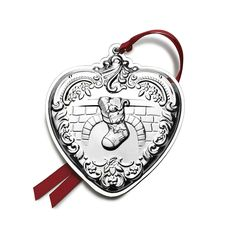 Wallace 2014 Grande Baroque Heart Ornament, 23rd Edition *** Continue to the product at the image link. (This is an affiliate link) #NaturalHomeDecor