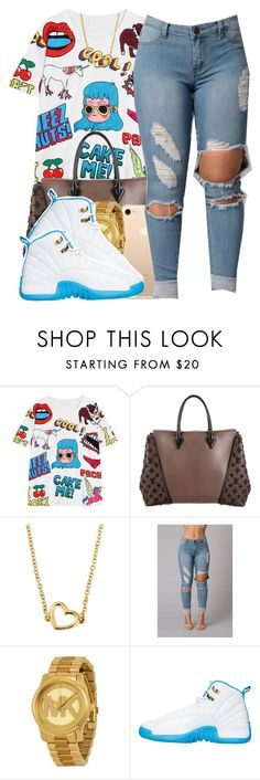 """2/10/17"" by polyvoreitems5 ❤ liked on Polyvore featuring Louis Vuitton, Marc by Marc Jacobs and Michael Kors"