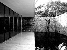 Mies van der Rohe, Barcelona Pavilion. 1929 International Exposition.