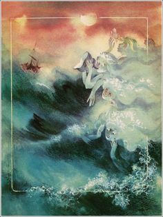 Hans Christian Andersen. The Little Mermaid. Illustrator Anatoly Smetanin, 1988