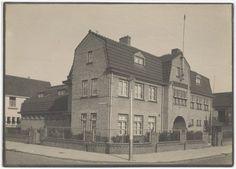Haarlem 1930 Volksbadhuis, Van Egmondstraat hoek Mr. Gerlingsstraat.