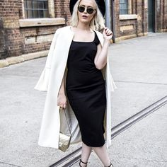 @byron_martin_ photographed me yesterday wearing @brigidmclaughlin dress and coat, @tonybianco sandals from @wantedshoes with @rayban shades from @sunglasshut tiger eye ring from @iconajewellery and hat from @hm #diveintofashion #MBFWA