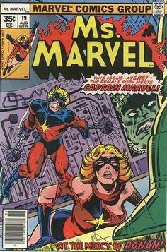 Captain Marvel Bronze Age Avengers Comics Not Signed Ms Marvel, Marvel Comics Art, Avengers Comics, Old Comics, Marvel Comic Books, Marvel Characters, Comic Books Art, Comic Art, Book Art