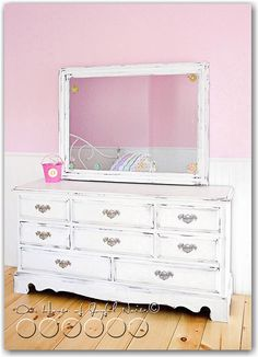 How I want to refinish my currently dark bedroom furniture....
