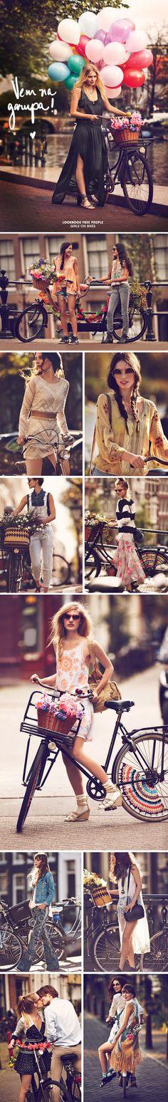 Achados da Bia | Free People | Catálogo de Janeiro | Bicicletas - http://www.achadosdabia.com.br