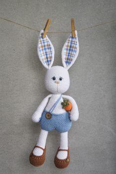 PATRÓN Sissy bunny amigurumi patrón patrón de por lilleliis