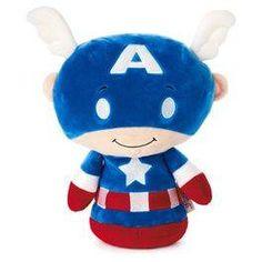 itty bittys® BIGGYS Captain America Stuffed Animal,