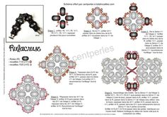RULACRUSE Bracelet - FREE Tutorial by Mu. Use: rulla beads (R), seed beads 11/0 (r11) and 15/0 (r15). Page 2 of 2