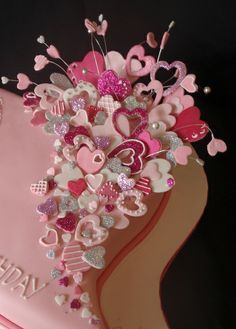 hearts by Torki's Sugar Art, via Flickr