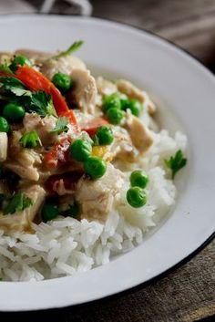 Chicken à la King #recipe #dinner