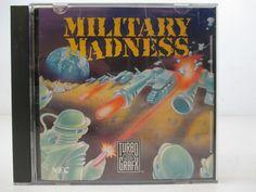 TurboGrafx Game Military Madness Turbo  GRAFX 16 1989 Data East Corp. NEC