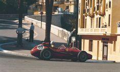 Wolfgang von Trips (Scuderia Ferrari), Ferrari Dino 246 - Ferrari V6 (RET)1958 Monaco GP