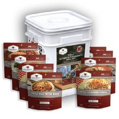 7 Day Ultimate Emergency Meal Kit #poachit