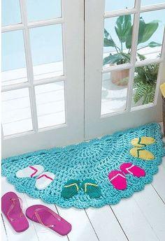 Half moon rugsn 10 stylish crochet designs for a personal touch leisurearts com vintage crochet pattern half moon fan by love this! Crochet Mat, Crochet Carpet, Crochet Rug Patterns, Crochet Designs, Easy Crochet, Crochet Stitches, Crochet Hooks, Free Crochet, Knitting Patterns