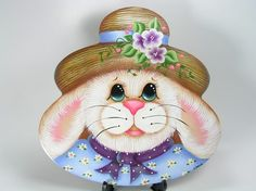 EASTER BUNNY WOOD PATTERN | Free Patterns