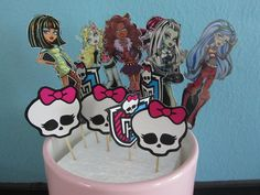 monster high party ideas | Monster High Birthday-Upcycle! | Flickr - Photo Sharing!