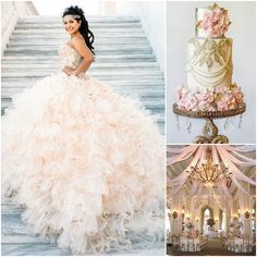 Blush Pink Quinceanera | Quinceanera Ideas |