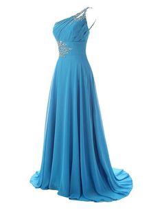 dress, prom dress, blue dress, royal blue dress, chiffon dress, one shoulder dress, blue prom dress, royal blue prom dress, dress prom, blue chiffon dress, dress blue